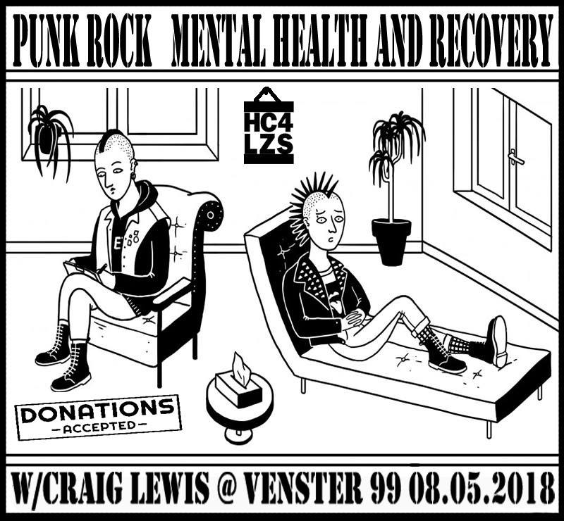 Punk Rock : Mental Health and Recovery | Venster99